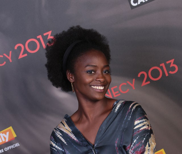 Aïssa Maïga, voix d'Aya - Photo : G. Piel/CITIA