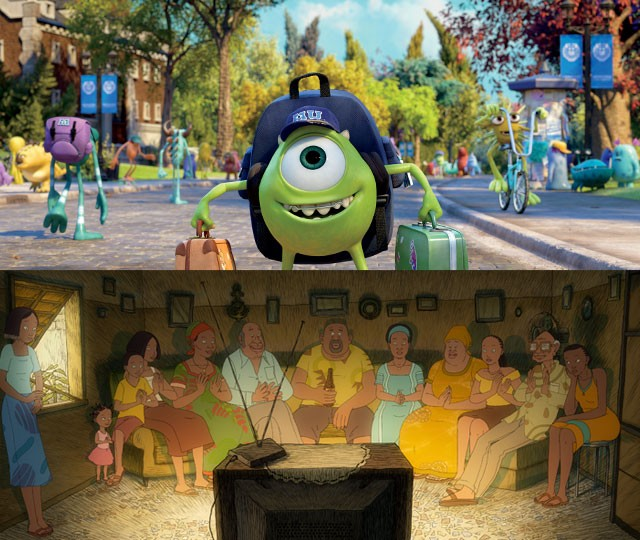 Monstres AcademyMonsters University©2013 DISNEY·PIXAR.ALL RIGHTS RESERVEDAya de Yopougon2012 AUTOCHENILLE PRODUCTION – TF1 DROITS AUDIOVISUELS